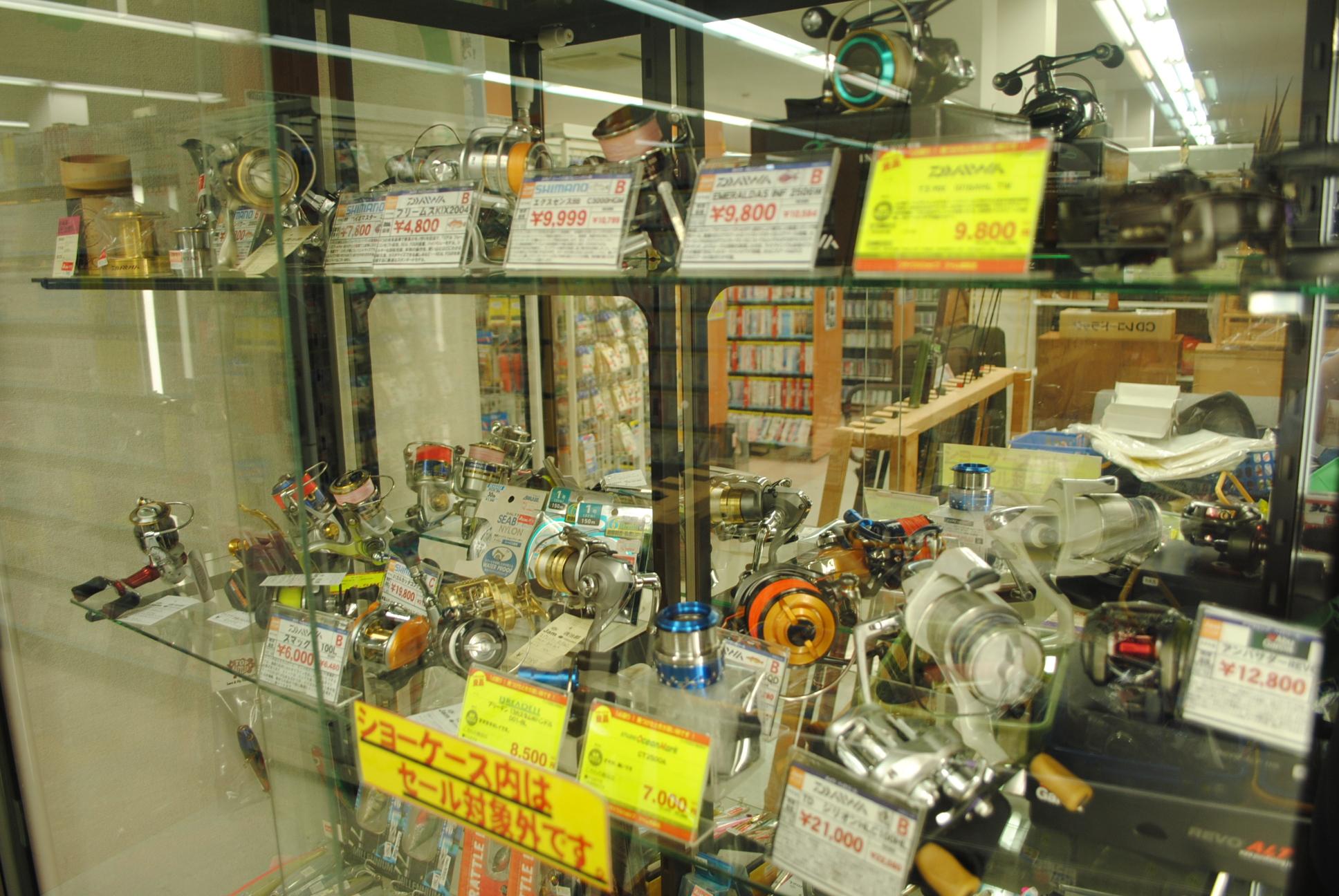 7f4ed93f989a リサイクルショップジャム鳥取店では釣具の買取を強化しています!! 買い替えで、出番が少なくなったリールやロッド・竿をお売りください。