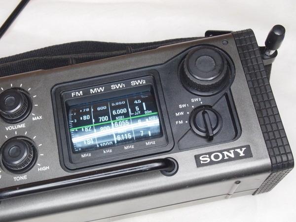 ソニー スカイセンサー ICF6000 (5)
