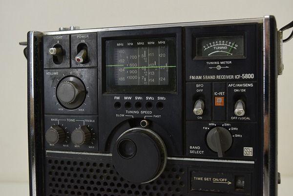 SONY ICF-5800 スカイセンサー (7)