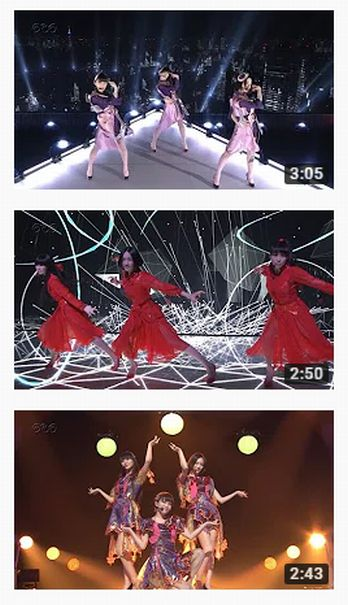 【Perfume×TECHNOLOGY】NHK紅白歌合戦 ノーカット版