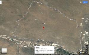 タムスク基地の対戦車壕