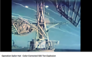 Operation Sailor Hat - Color-Corrected 500 Ton Explosion