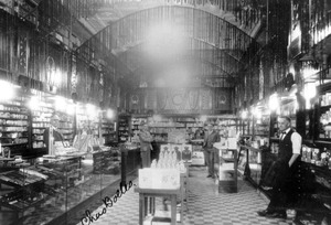robinson in drag store 1928