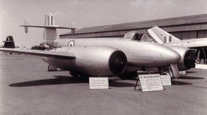 Gloster-Meteor-F8-jet-deflection-trials-Farnborough-1954