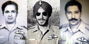 Dilip Parulkar, M S Grewal, Harish Sinhji. Image Credit