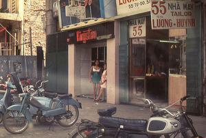 Bar girls on Tu Do Street1970