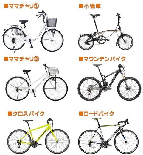 自転車いろいろ