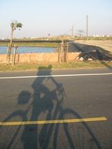 右手邊には平行して台61線の西濱快速公路
