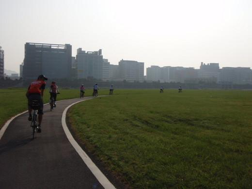 2008.8.17 台日合同走行会:基隆河親水脚踏車道 photo by Ruby