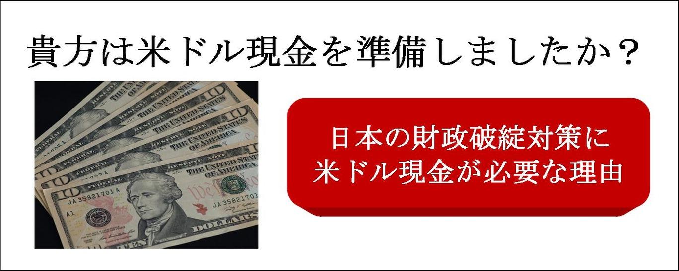 米ドル現金が必要な理由