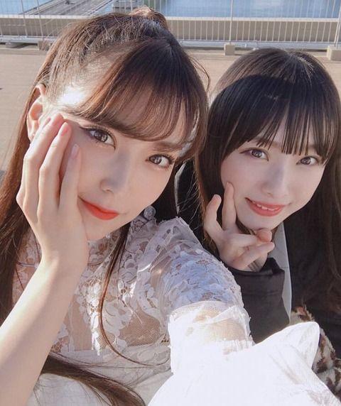 梅山恋和と白間美瑠が可愛すぎるwwwwww