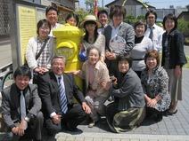 幸福の黄色い郵便ポスト5周年式典