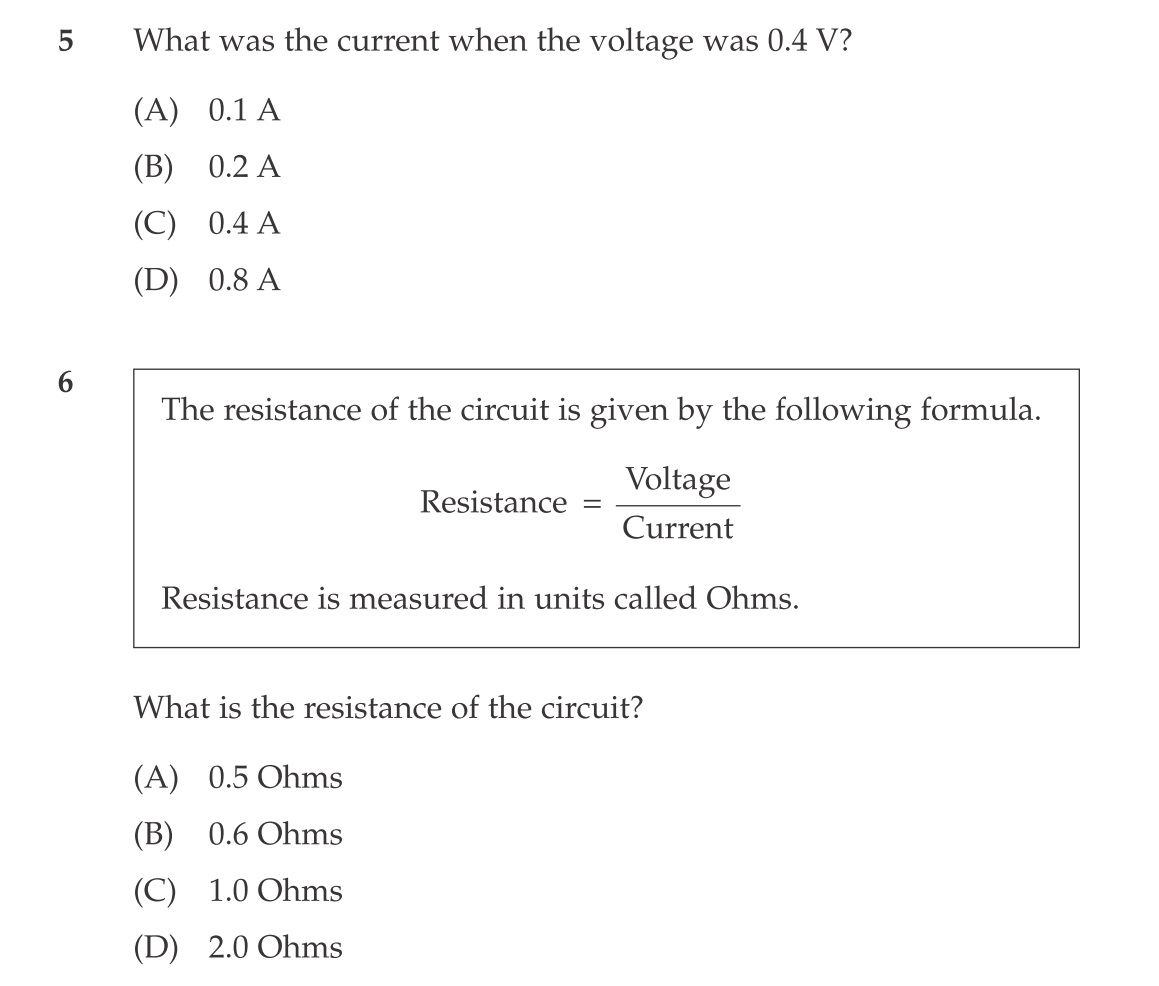 science source current and voltage q5-6