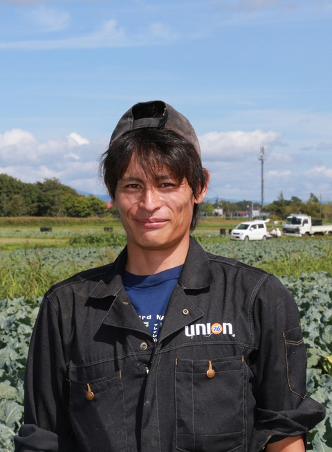 純農BOY記事投稿(6月 いしかり成田和広写真①)