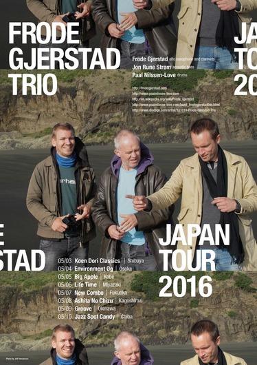 Frode Gjerstad Trio 2016