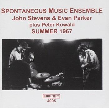 Evan John Stevens Peter Kowald SPONTANEOUS MUSIC ENSEMBLE