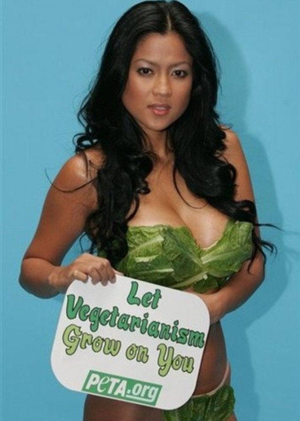 Hinimok ni Alicia ang publiko na subukan na maging vegetarian