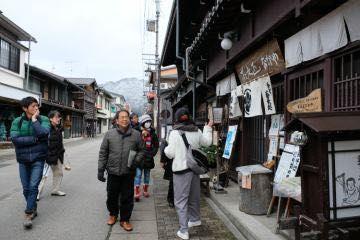 飛騨の町散策