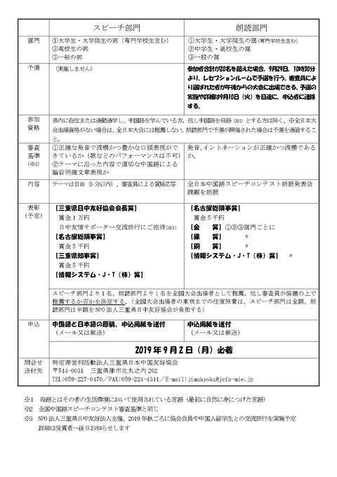 要項および申込書2