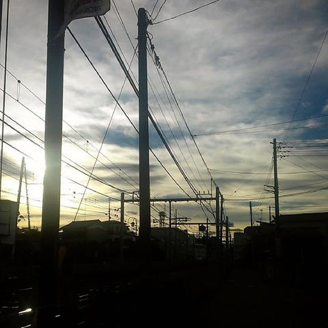 20130917-台風一過の夕焼けの写真-15