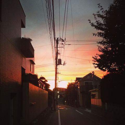 20130917-台風一過の夕焼けの写真-04