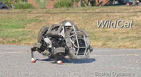 20131006-4足歩行ロボット-WildCat-01