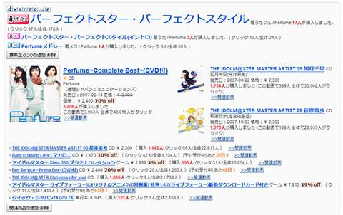 アイドルマスター Perfume