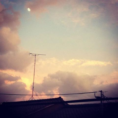 20130917-台風一過の夕焼けの写真-10