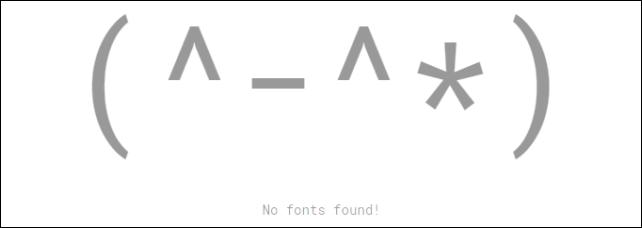 20161022-Google-Fontsでフォントが見つからなかったときの顔文字-05