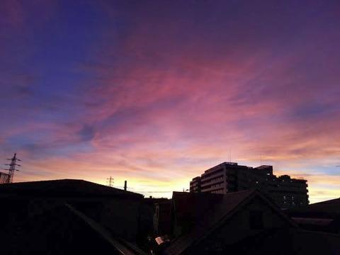 20130917-台風一過の夕焼けの写真-18