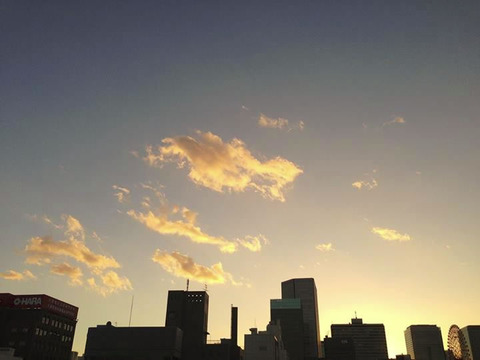 20130917-台風一過の夕焼けの写真-17
