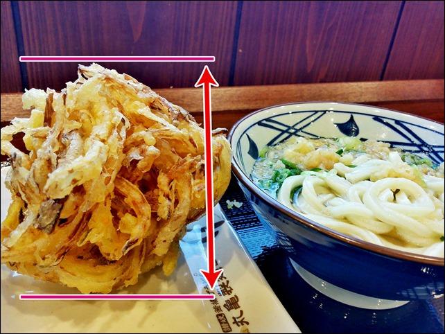 20140420-丸亀製麺のかき揚げがデカくて驚いた-01
