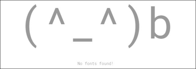 20161022-Google-Fontsでフォントが見つからなかったときの顔文字-04