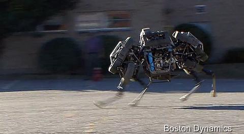 20131006-4足歩行ロボット-WildCat-07