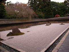 京都便利屋が撮影した竜安寺の紅葉1