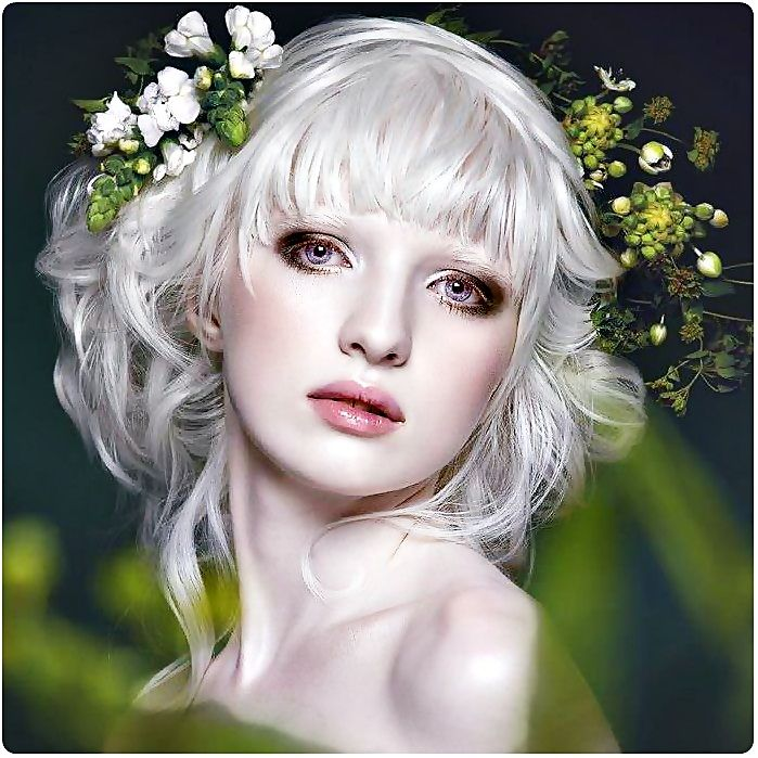 Help With Makeup For An Albino Friend