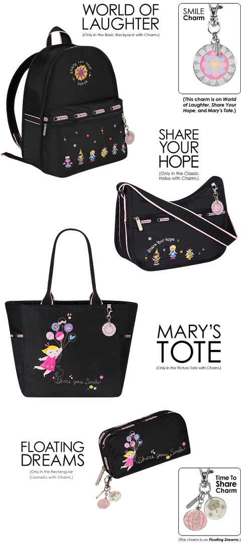 LeSportsac-World-of-Laughter-and-Share-Your-Hope