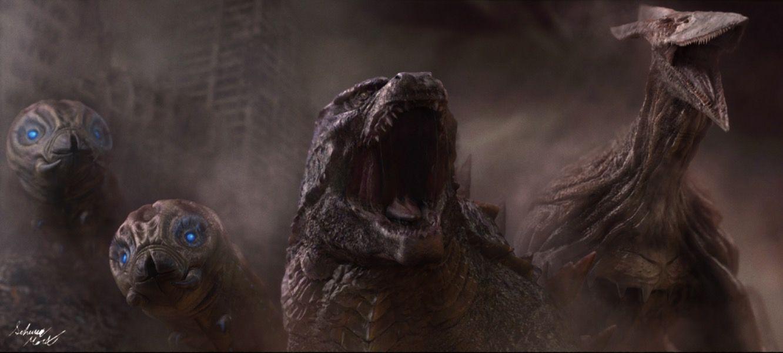 ハリウッド版『ゴジラ』モスラ×ラドン×キングギドラの怪獣対決が撮影スタート!(シネマトゥデイ)