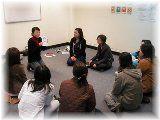 日本語教師準備研修風景