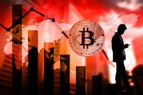 ビットコイン 仮想通貨 暴落 投資 チャート