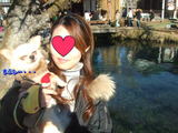 富士五湖だけど日光がまぶしい・・・