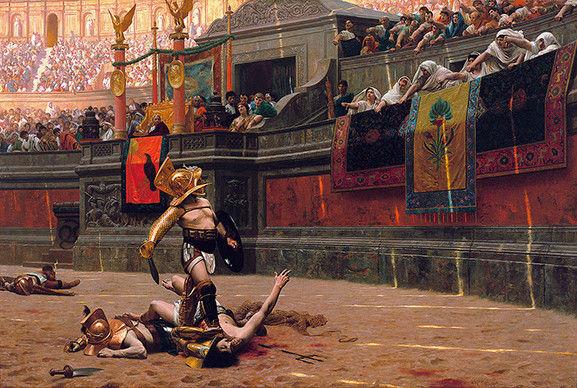 コロッセオにおける殺し合い
