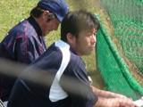 野茂 佐々木コーチ