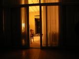 圓山大飯店 ベランダから部屋
