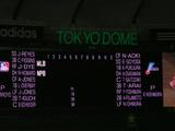 日米野球・スコアーボード