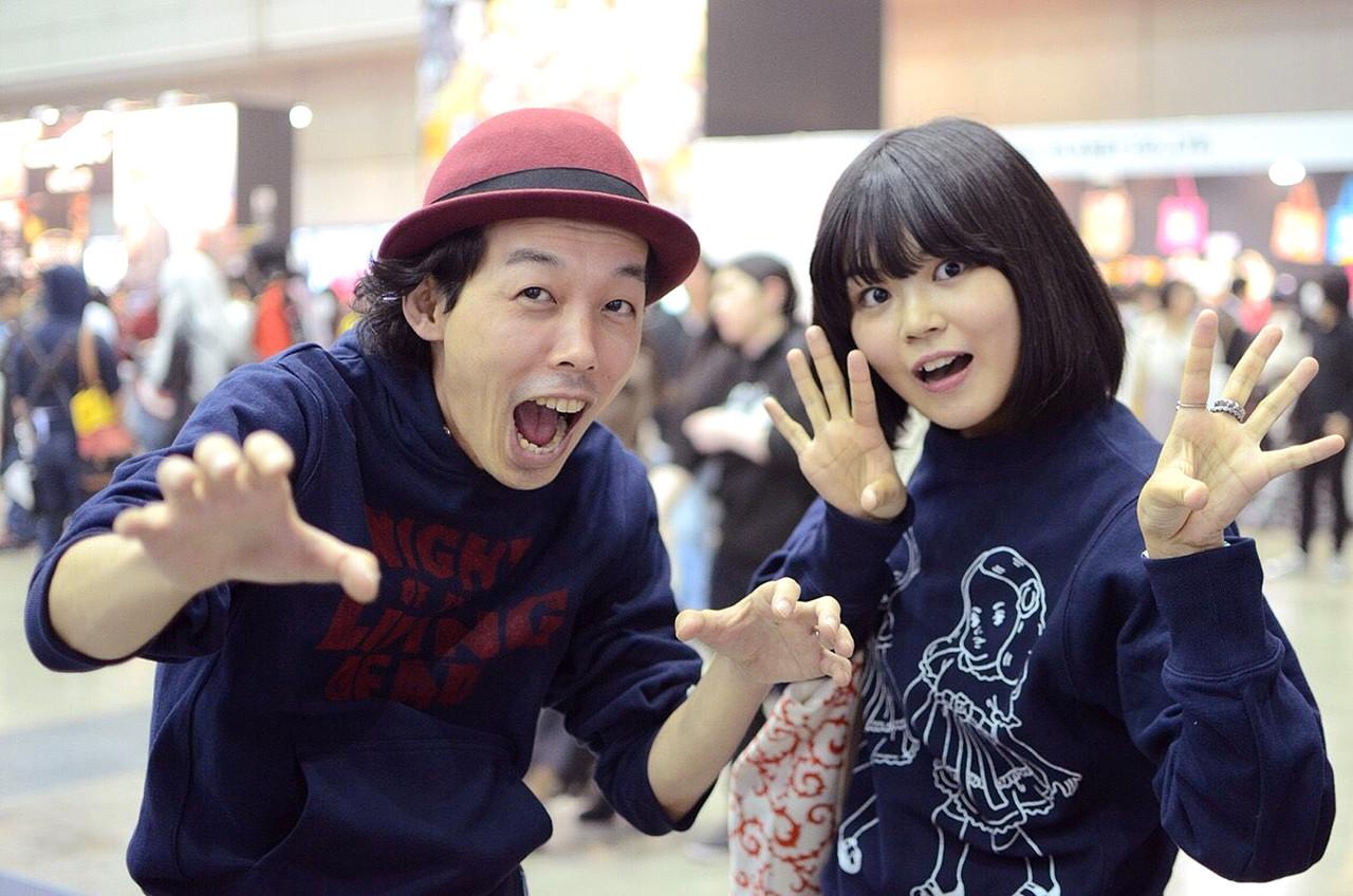 映画『カメラを止めるな!』上田慎一郎監督ゾンビパーカー着用例1