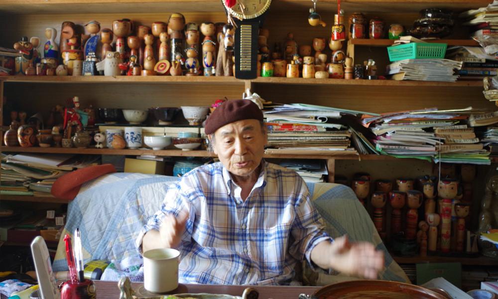 ロマンこけし斎藤工房を訪ねて〜福島県会津若松2