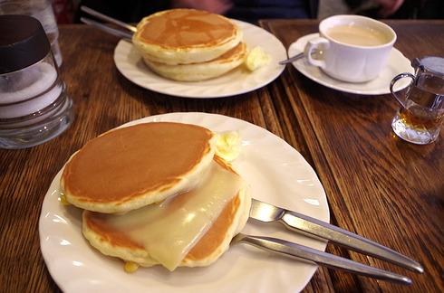 錦糸町珈琲専門店トミィのパンケーキ