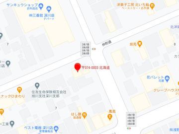 こぐま深川中央(え〜やん)MAP