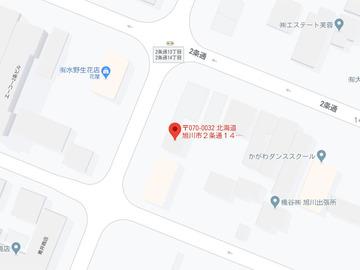 こぐま2条店MAP